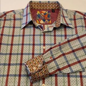 Robert Graham L/S Button Up Shirt XL Multicolored